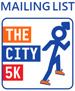 The City 5K Mailing List